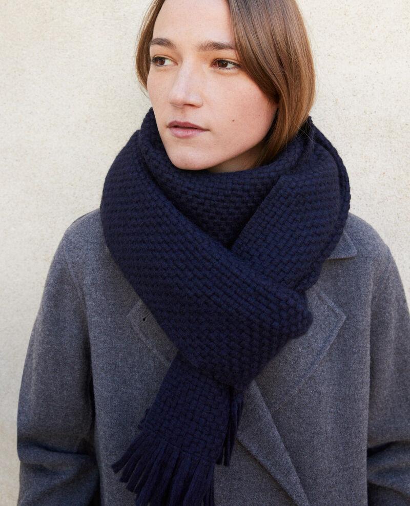 Big scarf Peacoat Gene