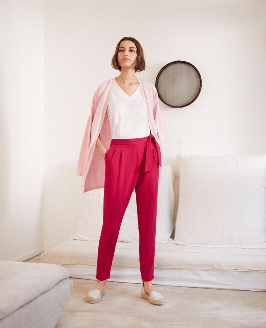 Harem-style pants  FUSHIA
