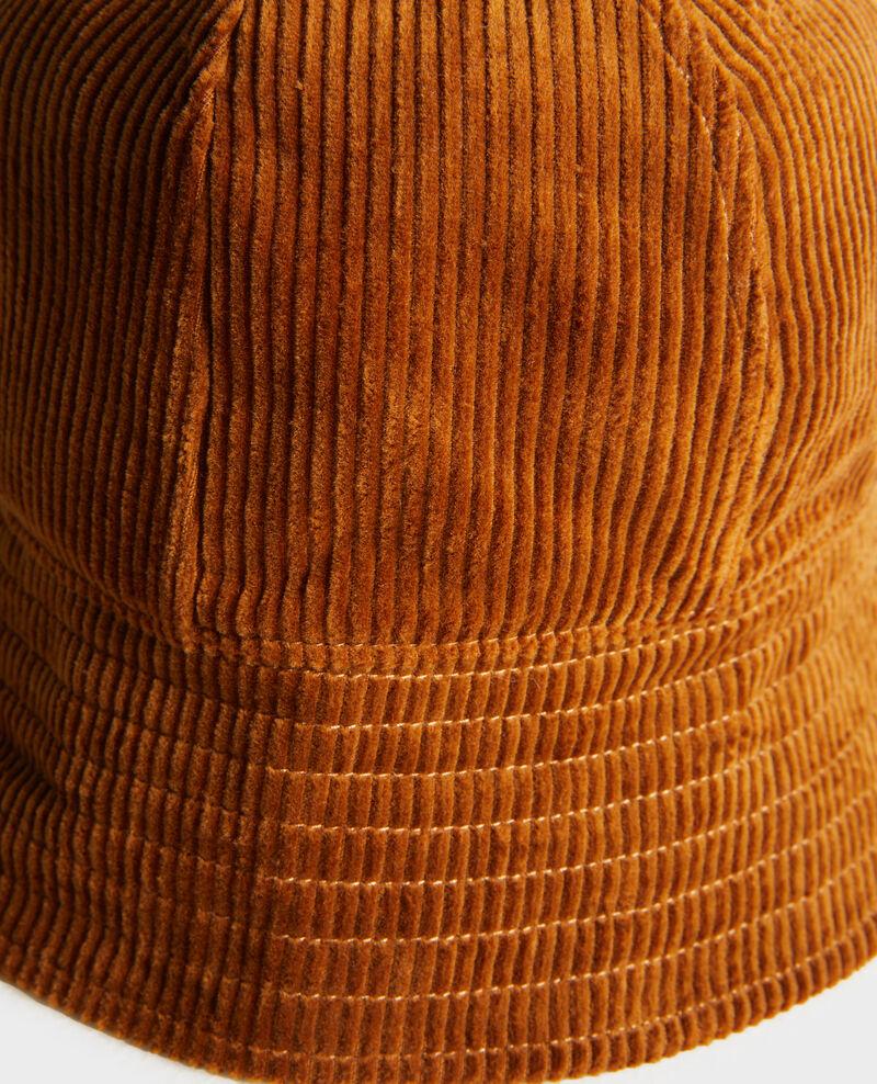 Corduroy bucket hat Monks robe Pelo