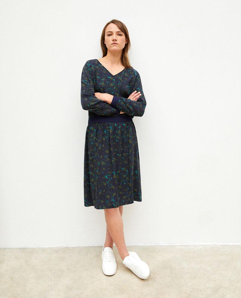 Dress with elasticated waistband Fc olive night Gapricorne