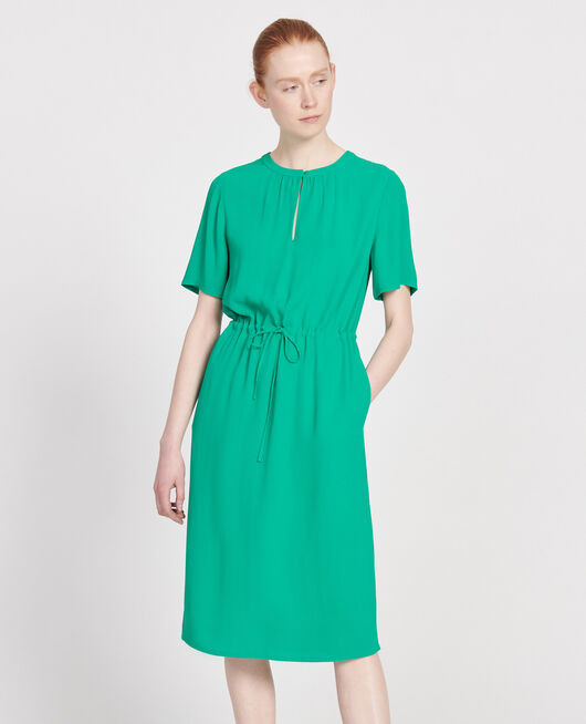Straight and loose dress GOLF GREEN
