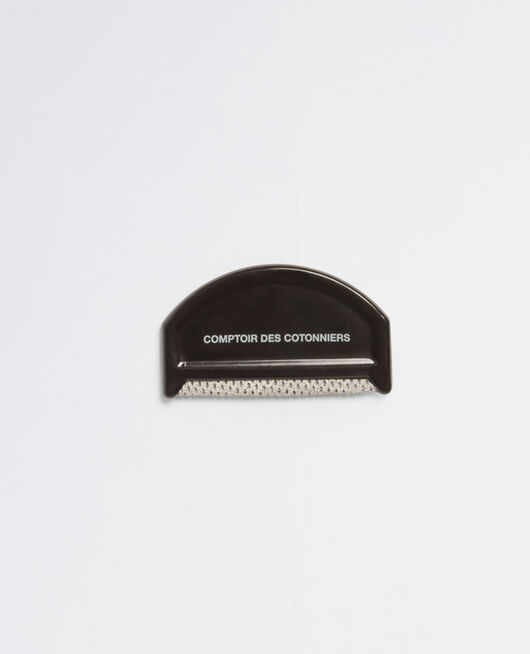 Cashmere comb Black