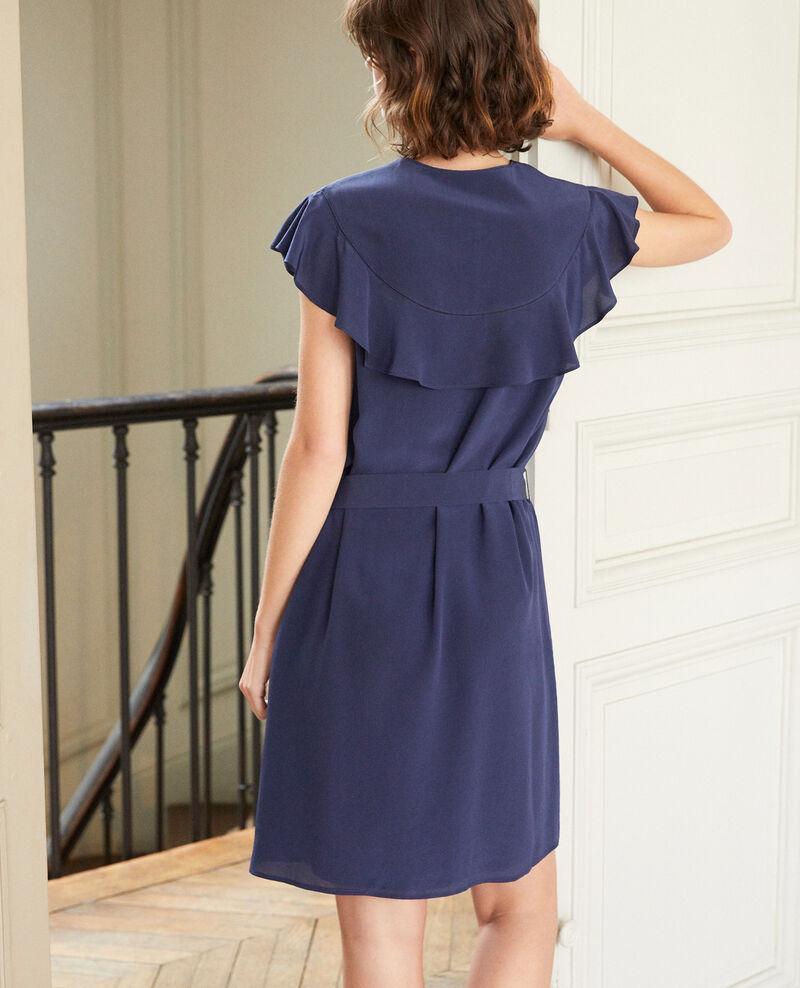 Frilly dress Blue Gaudence
