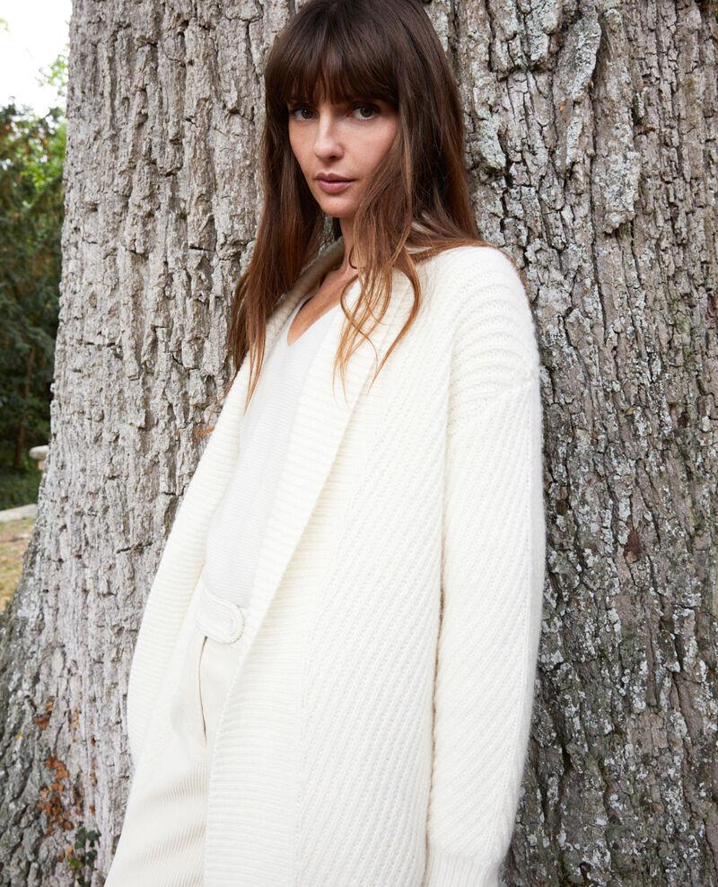 Rib knit jumper Off white Jokin