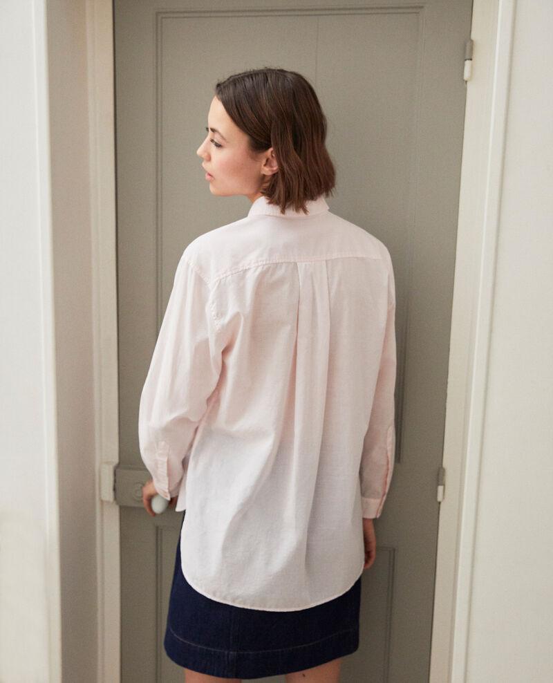 Classic cotton shirt Pink Ibouya
