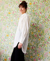 Oversize long shirt Coconut milk Javiera