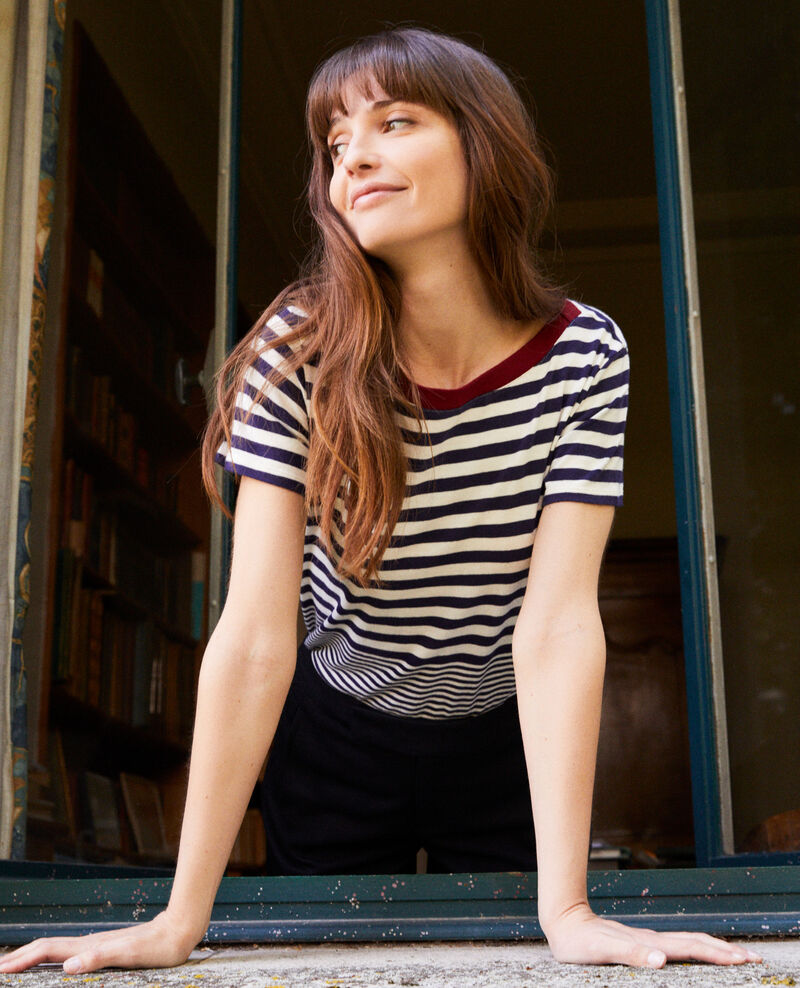Striped T-shirt Butter/evening Joxy
