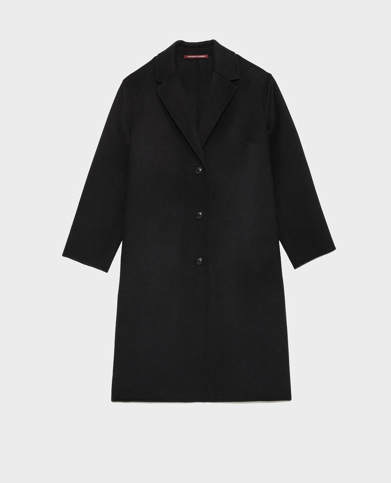 Wool coat Black beauty Maclas
