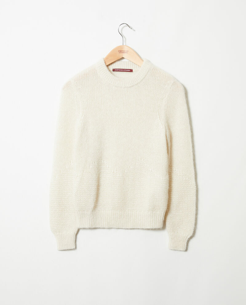Novelty knit jumper Buttercream Jaheim
