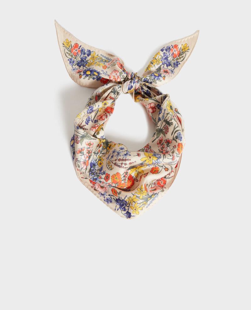 Silk diamond scarf Tapioca Nage