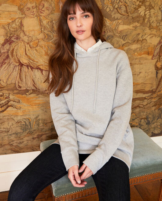 Hooded sweatshirt LIGHT GREY