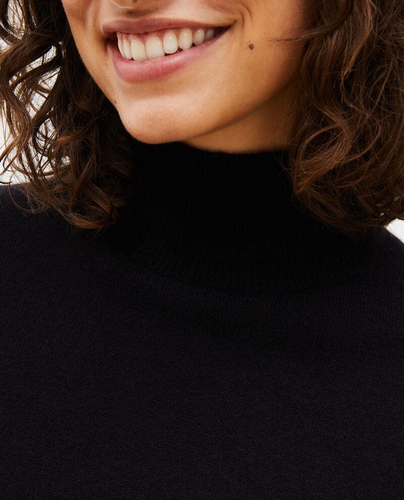 Cashmere jumper dress Black beauty Manin