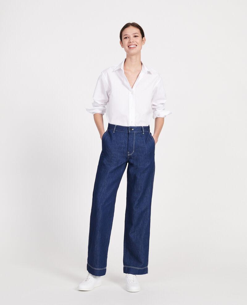 Painter's jeans Indigo denim Louye