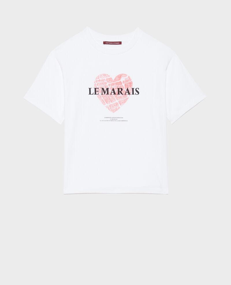 Short-sleeve cotton t-shirt Valiant poppy Mia