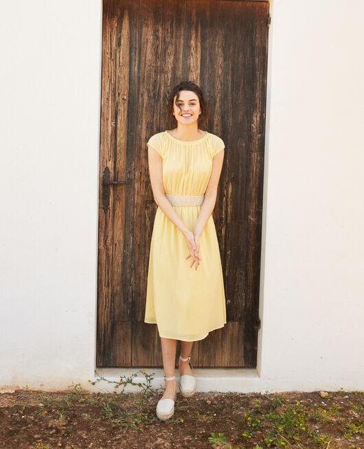 Mid-length dress SPICE YELLOW