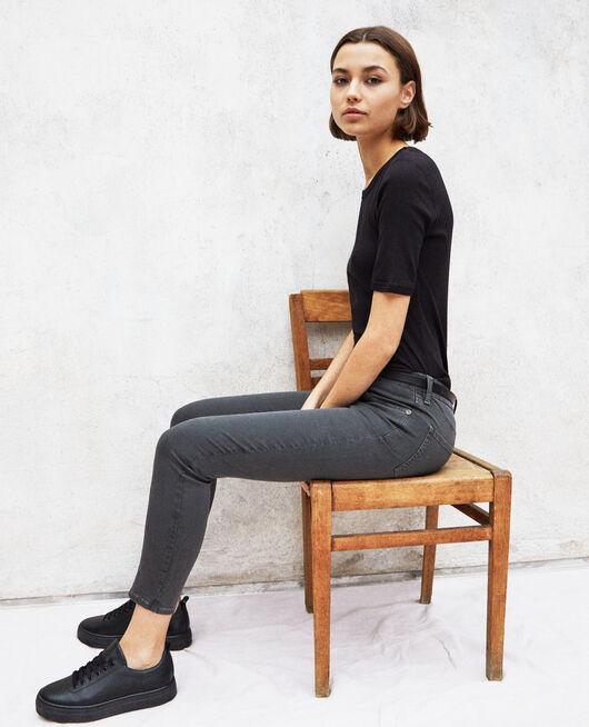 Skinny fit jeans DARK GREEN
