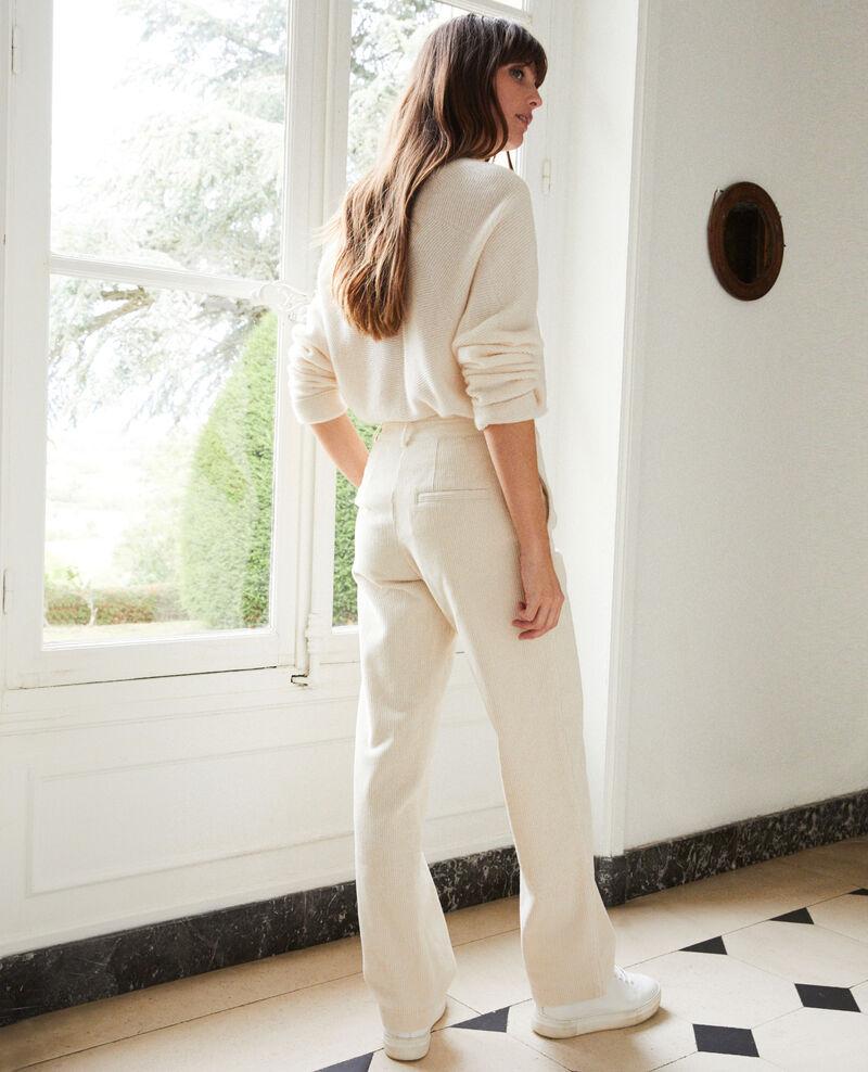 Corduroy trousers Off white Jose