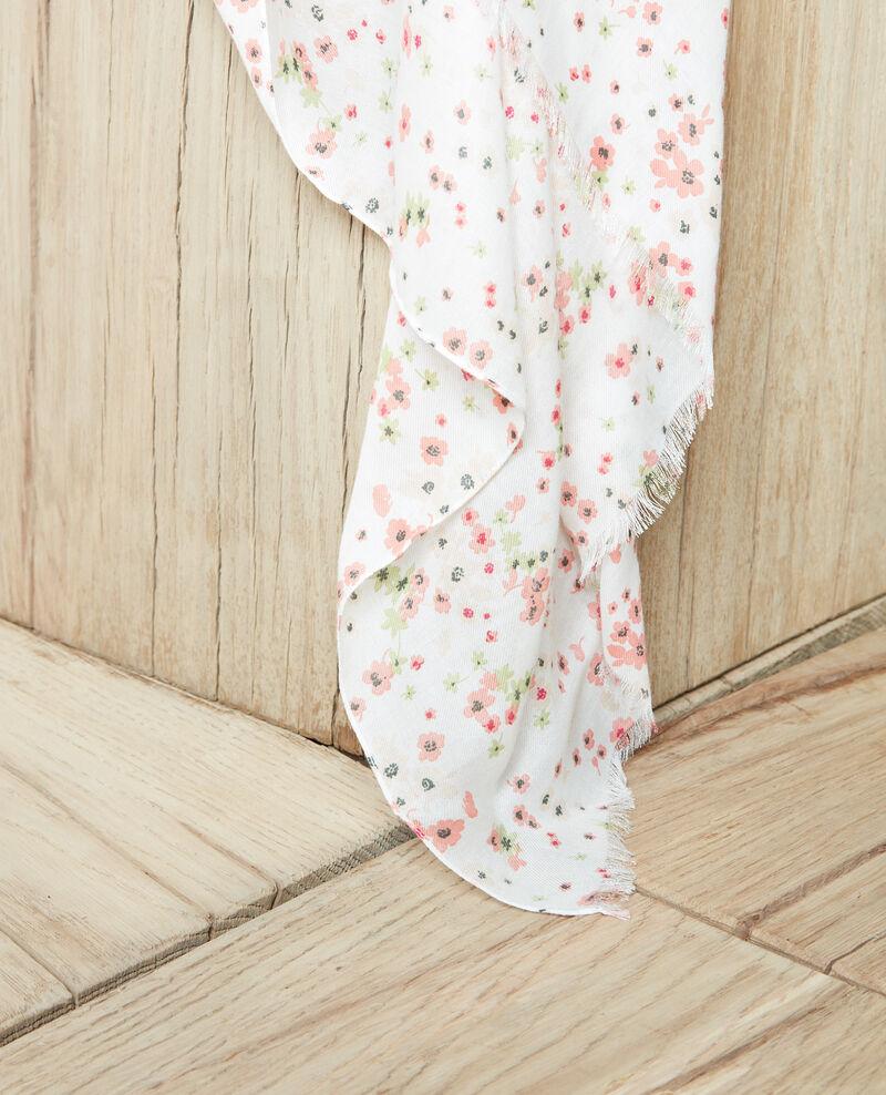 Printed scarf Primula ow Iprimula
