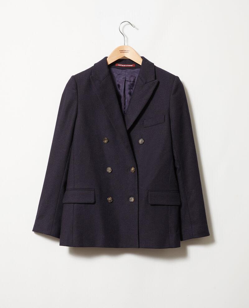 Wool blend blazer Dark navy Jermain