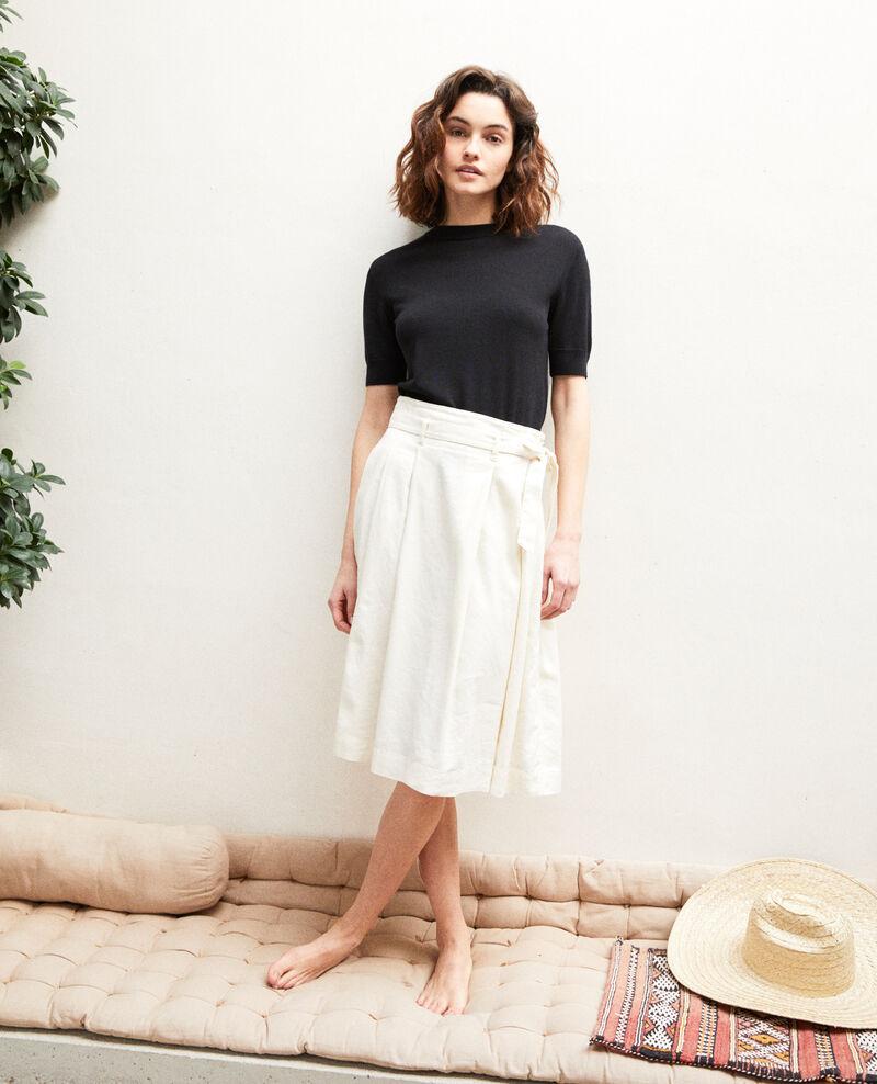 Midi skirt Off white Ivinea