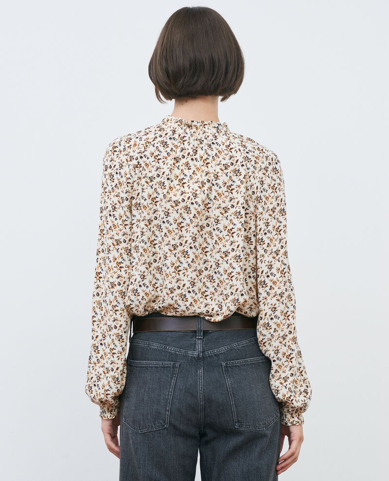 Flowing printed top Indienne light Papiche
