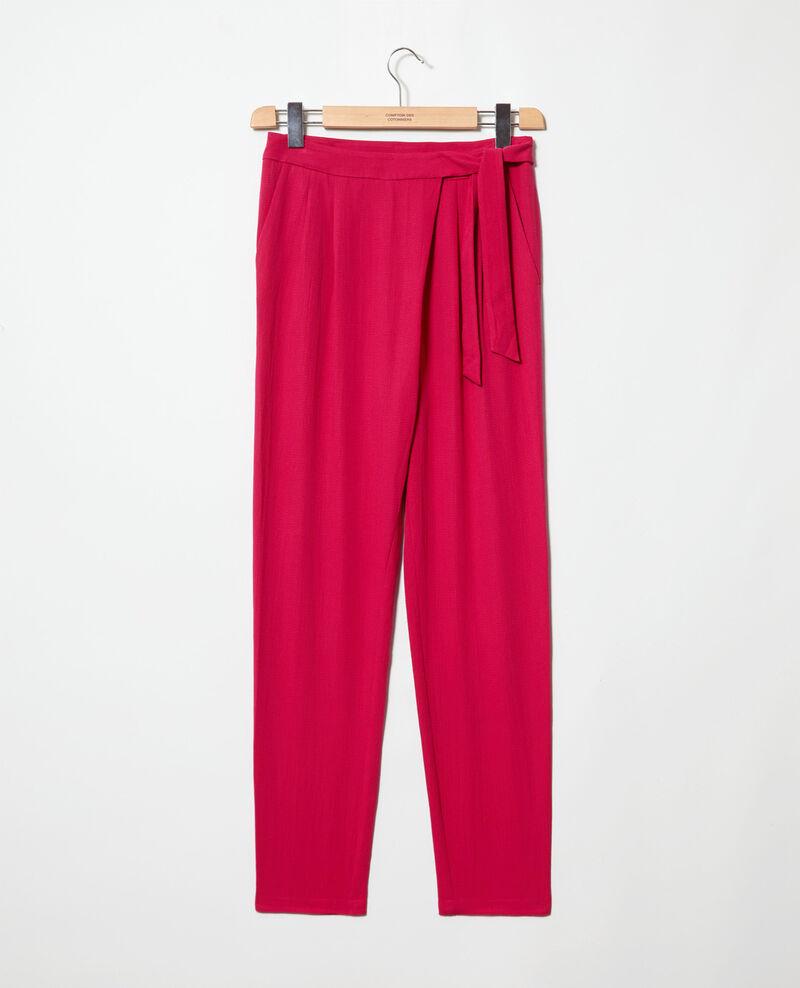 Harem-style pants  Fushia Inoise