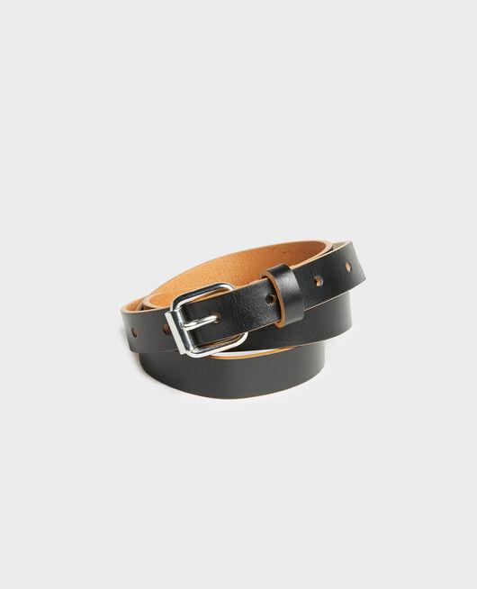 Leather belt BLACK BEAUTY