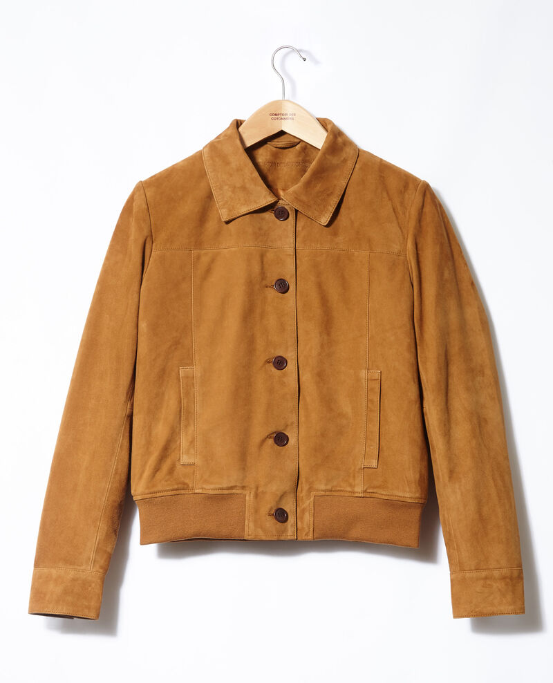 Suede jacket Yellow Ganberry