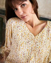 Printed blouse Daphne buttercream Jars