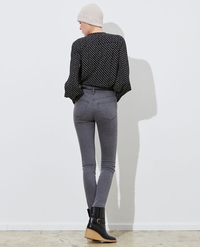DANI - SKINNY - 5 pocket jeans Dark grey Paugrey
