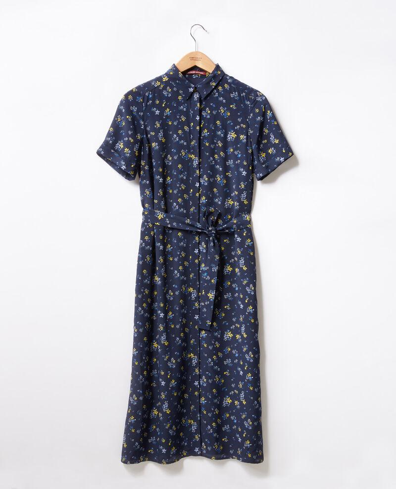 Printed dress Lillybell navy Flashback