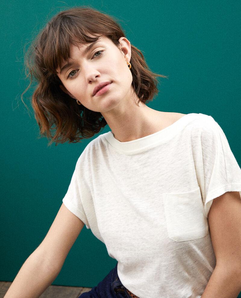 T-shirt with pocket White Granolita