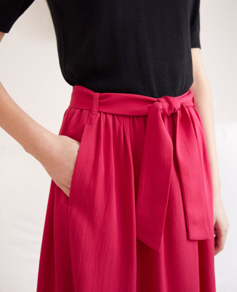 Midi skirt Fushia Ikena
