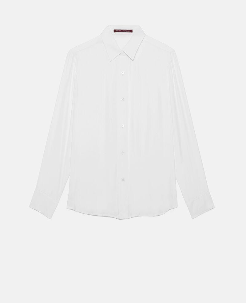 SIBYLLE - Silk shirt Optical white Loriges