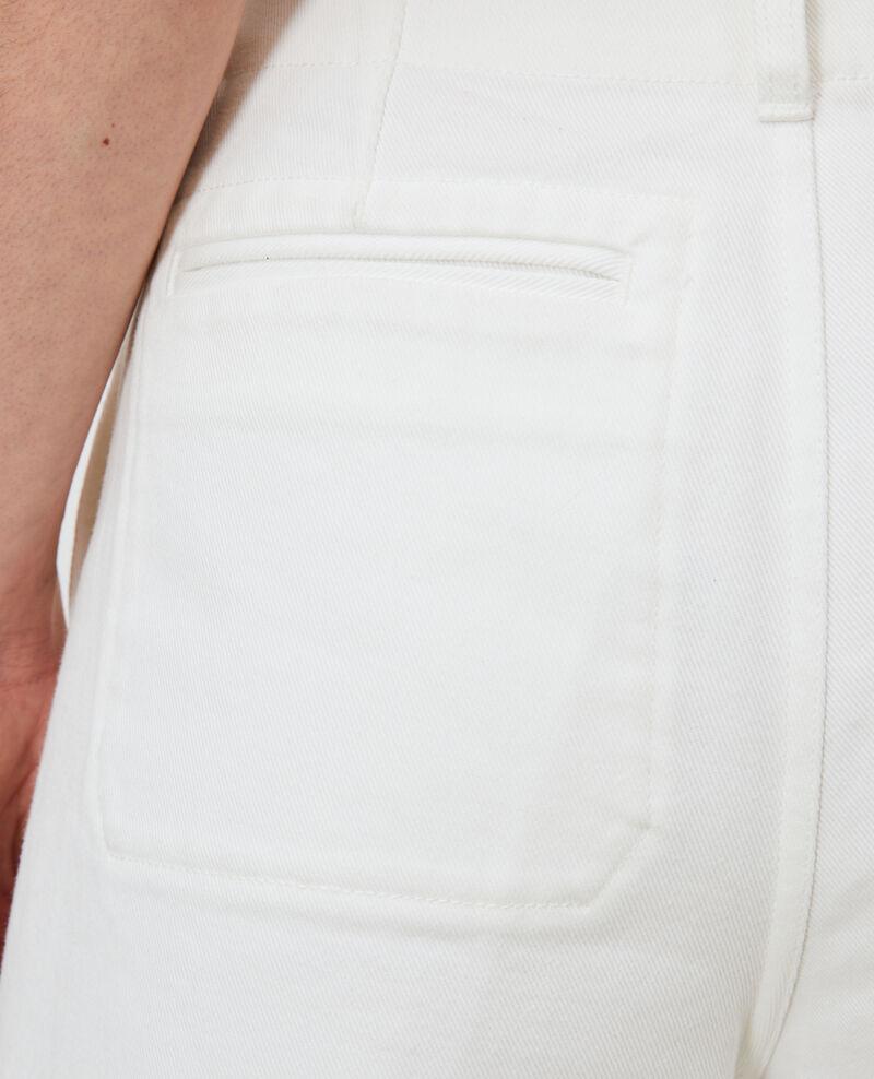 White skort Optical white Nayoz