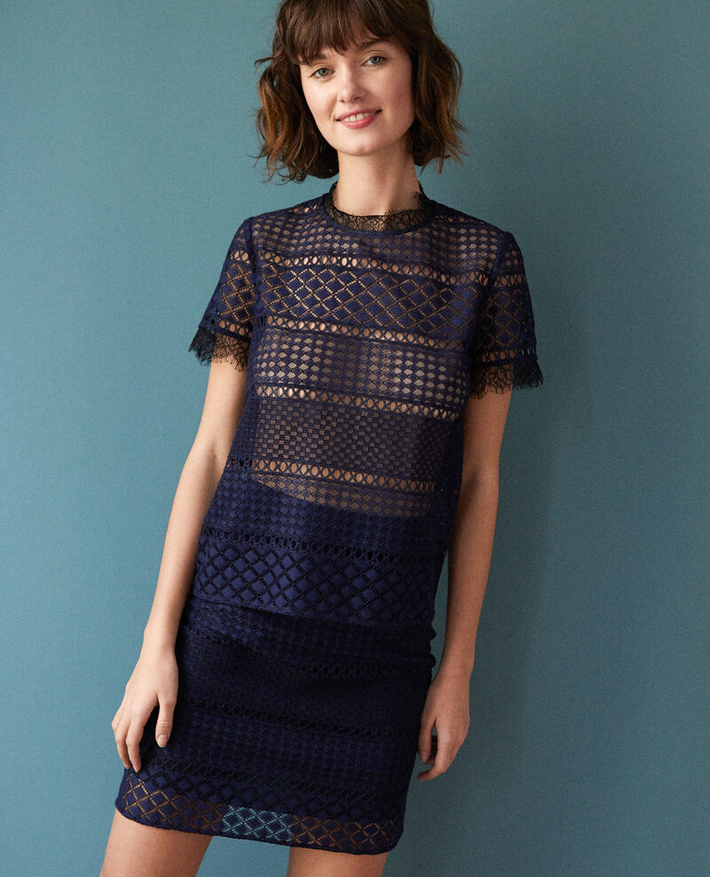 Lace skirt Blue Gimmy