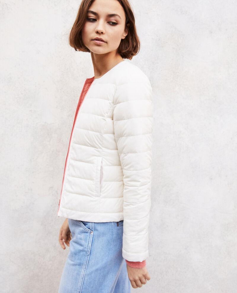 Iconic Mademoiselle Plume down jacket Rose Illopou