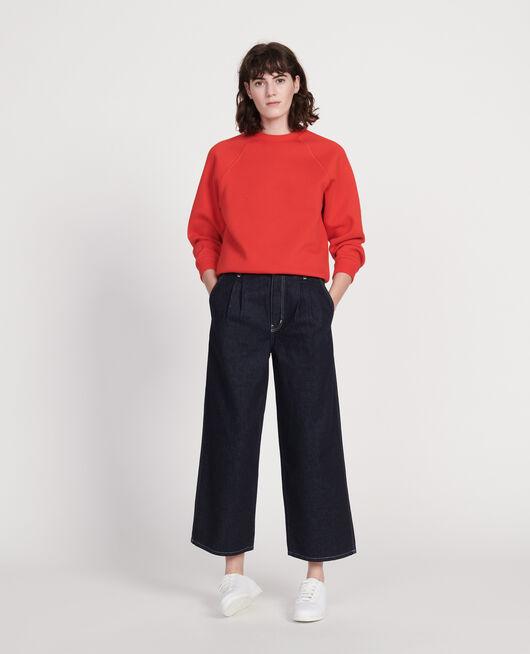 Classic sweatshirt FIERY RED