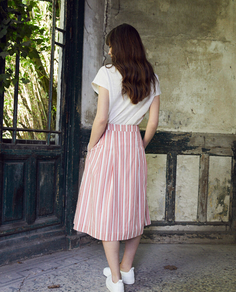 Cotton wrapover skirt Ds molten lava Jilette