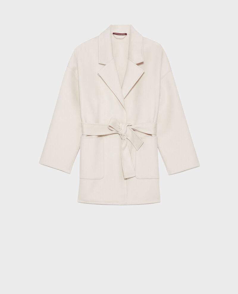 Double-sided wool and cashmere coat Rainy day Pantin