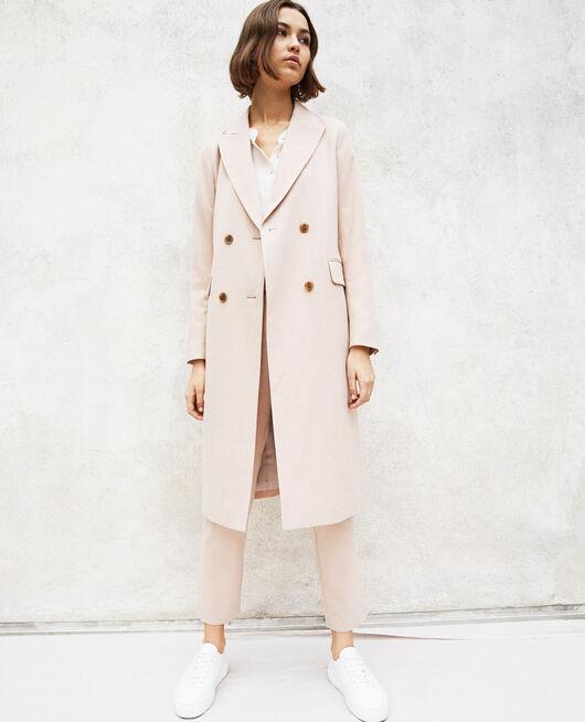 Long lightweight coat PINK BEIGE