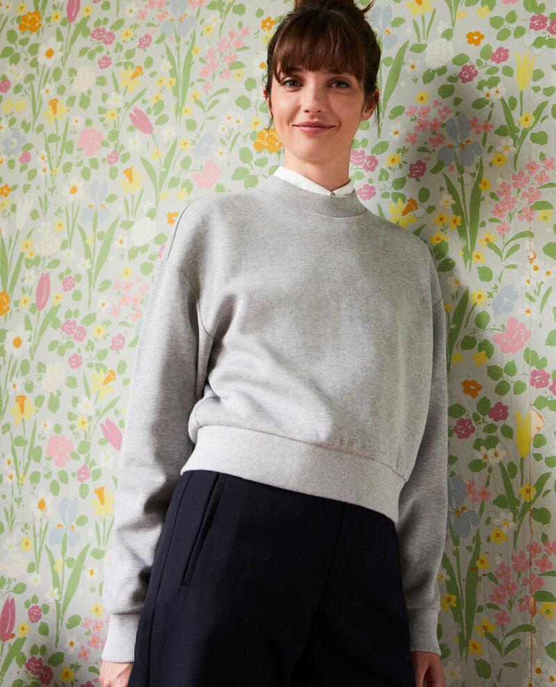 Short sweatshirt Light grey Jizela