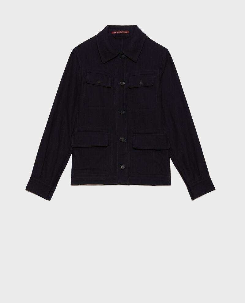Cotton work jacket Night sky Nalon