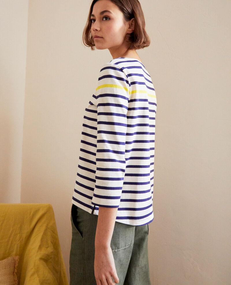 Striped T-shirt Bleu marine Isteria
