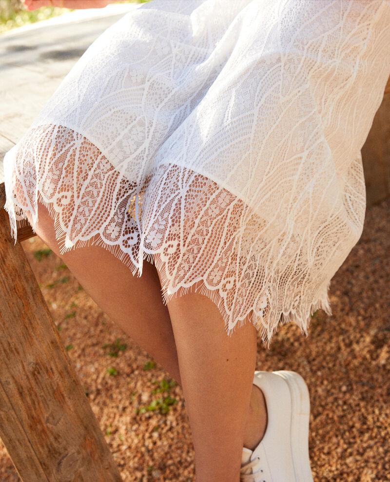 Lace skirt Off white Inaskar
