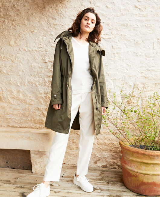 Light parka OLIVE GREEN
