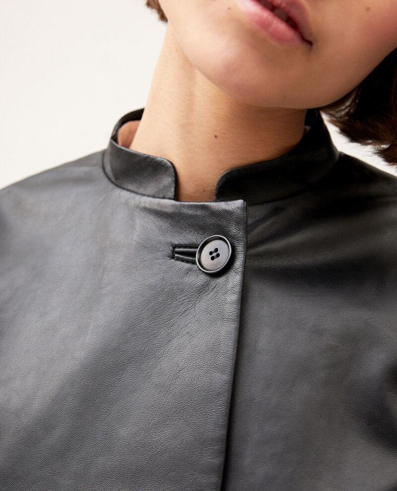 Leather jacket Noir Ipple