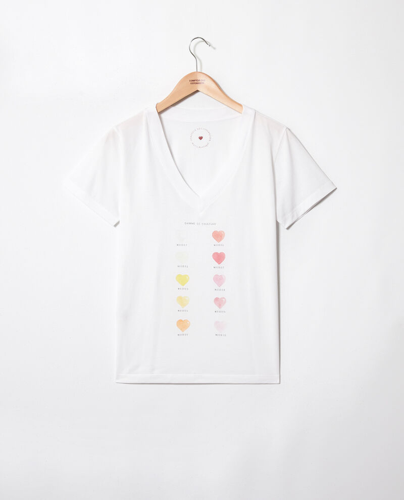 Colour palette t-shirt Off white Iga