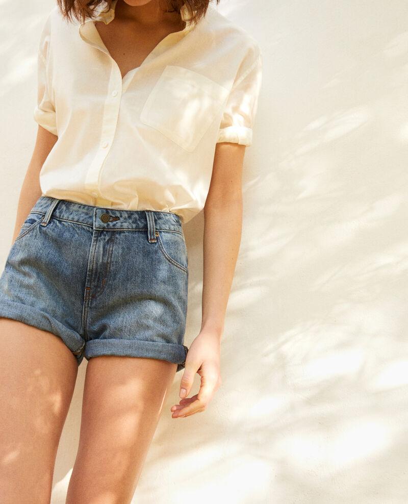Denim shorts Vintage wash Istrala