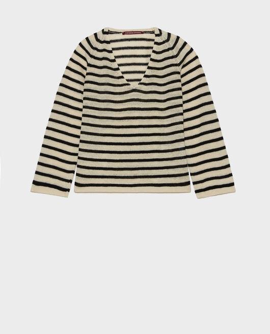 Linen T-shirt LOGRON_5059